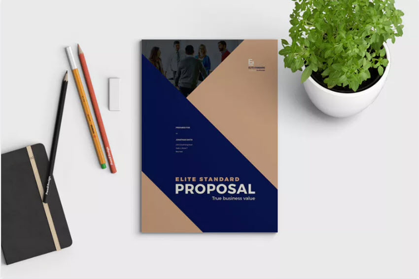 Brand Proposal Using Visuals