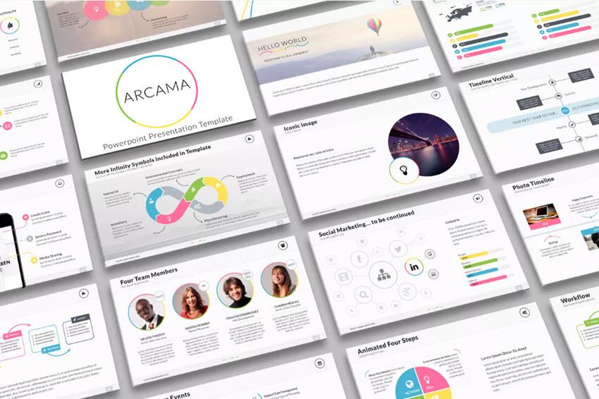 Arcama PowerPoint Presentation Template