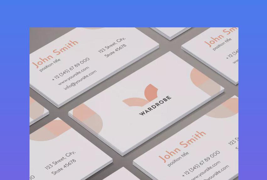 Fashion Shop Business Card Design