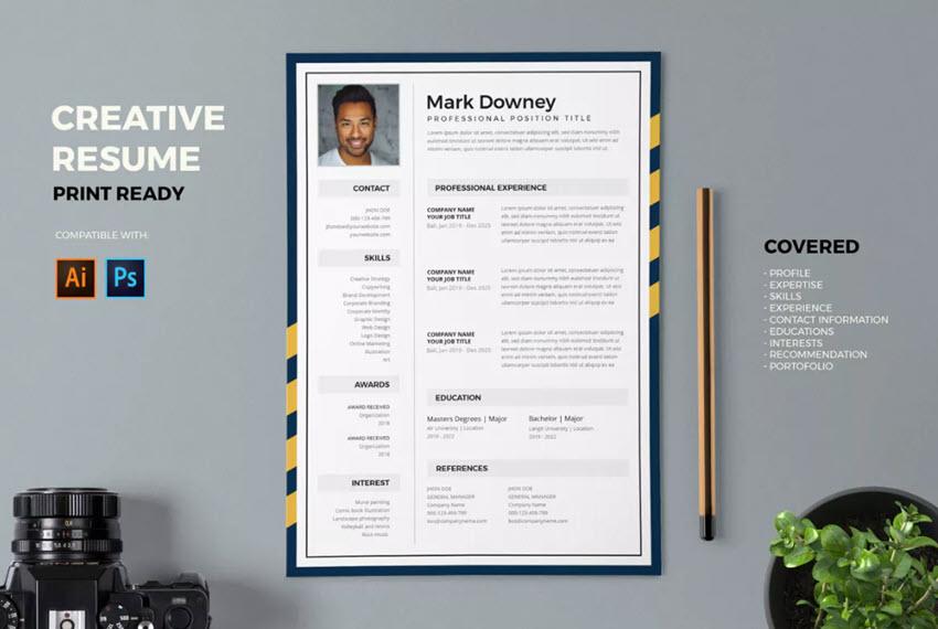 Creative Resume Idea