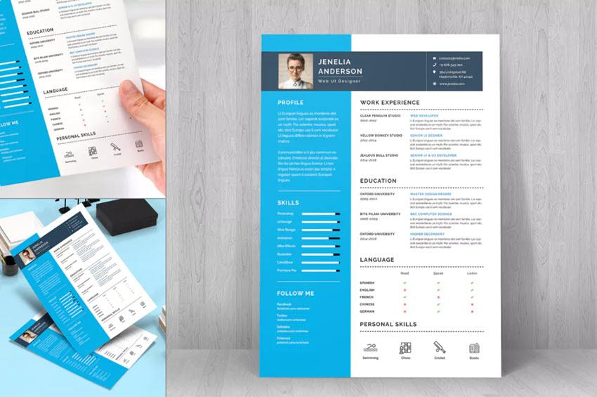 Resume CV Template - 22