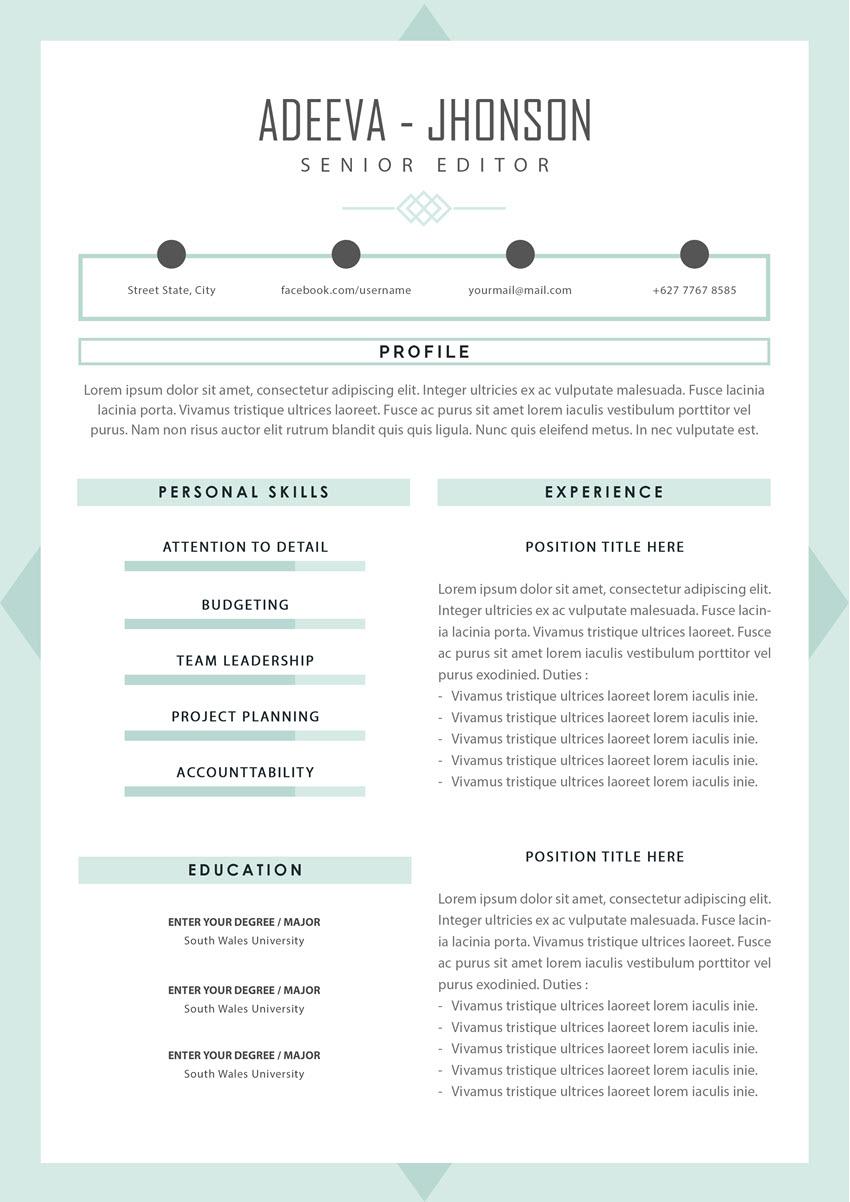 Resume - No Graduation Date