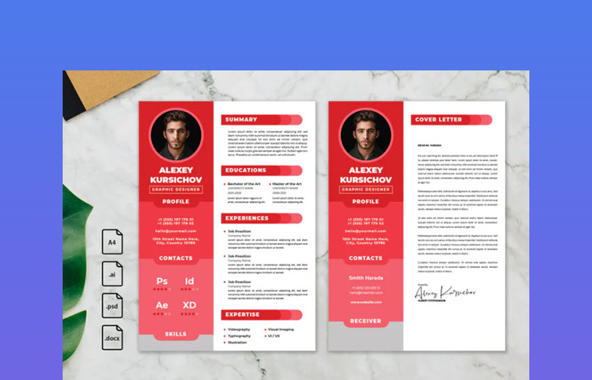 Professional CV and Resume