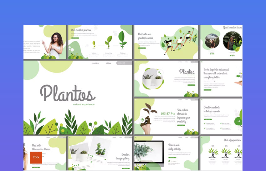 Plantos Google Slides Template