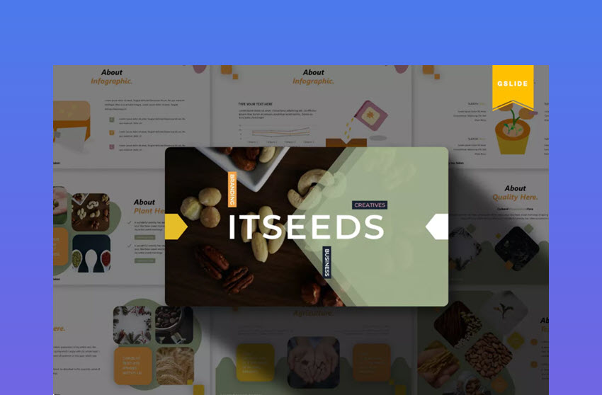 Itseeds Google Slides Template