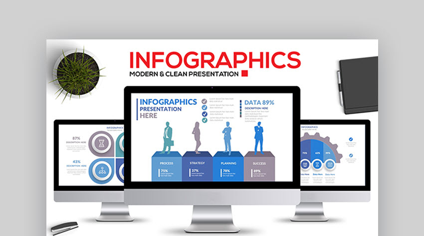 Infographic Keynote Template