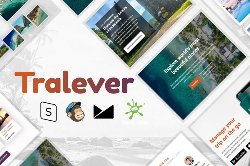 Tralever Mailchimp Template