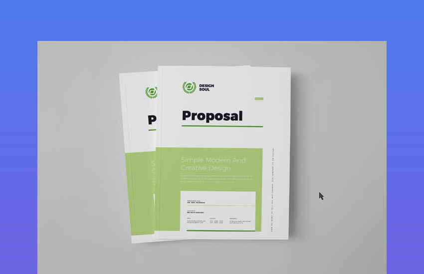 Proposal for Marketing Projects