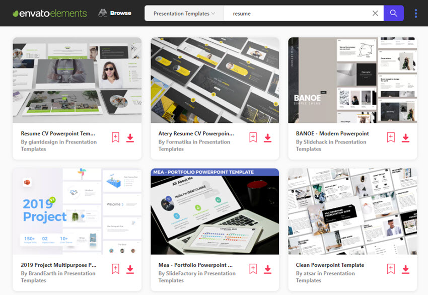 20 Creative Powerpoint Resume Templates Best Layout