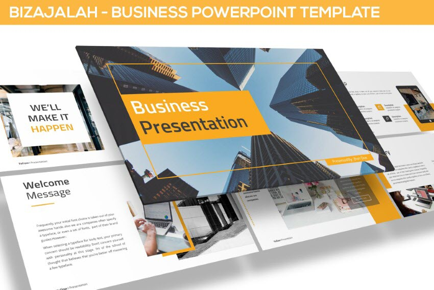 Executive presentations PowerPoint template
