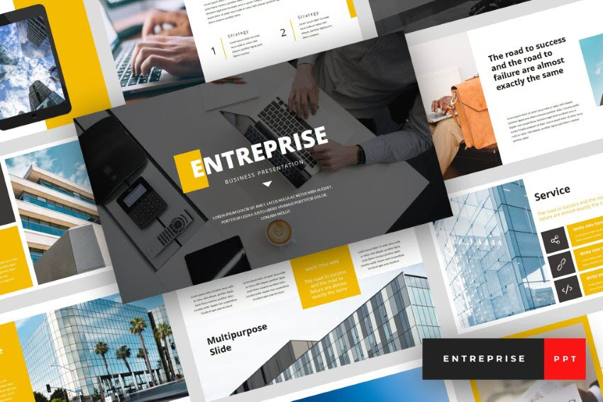 PowerPoint executive presentation template