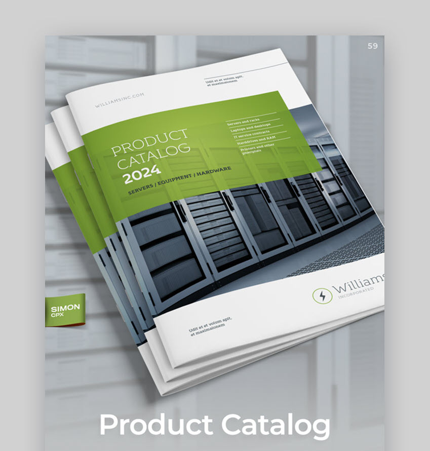 Product Catalog - Williams