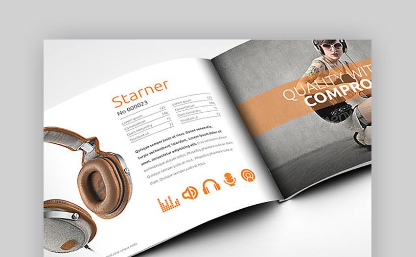 Horizontal Brochure A5 Audio Life