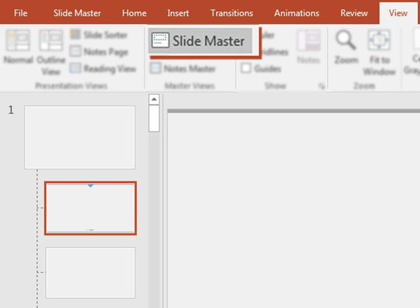 Slide Master in PowerPoint