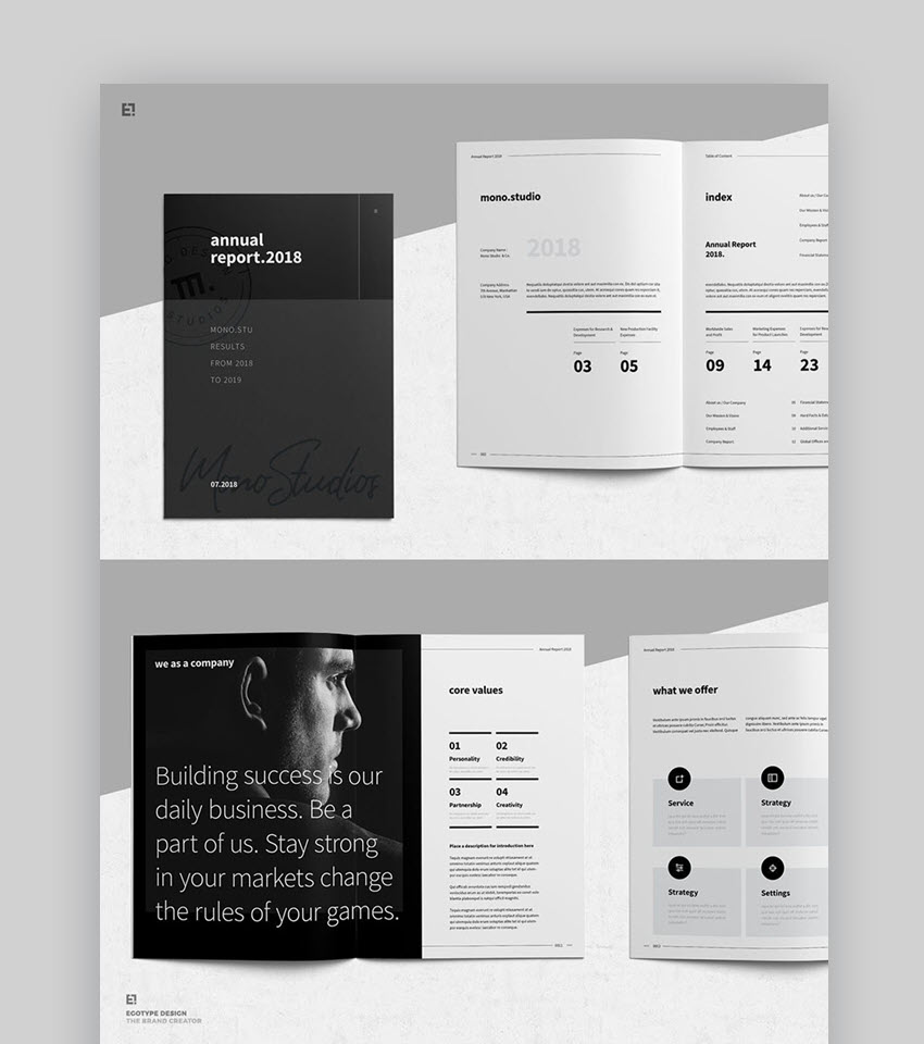 Annual Report Templates