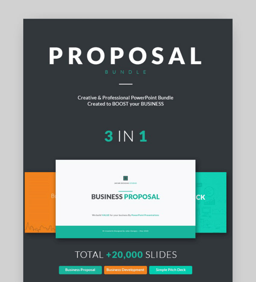 business proposal presentation bundle