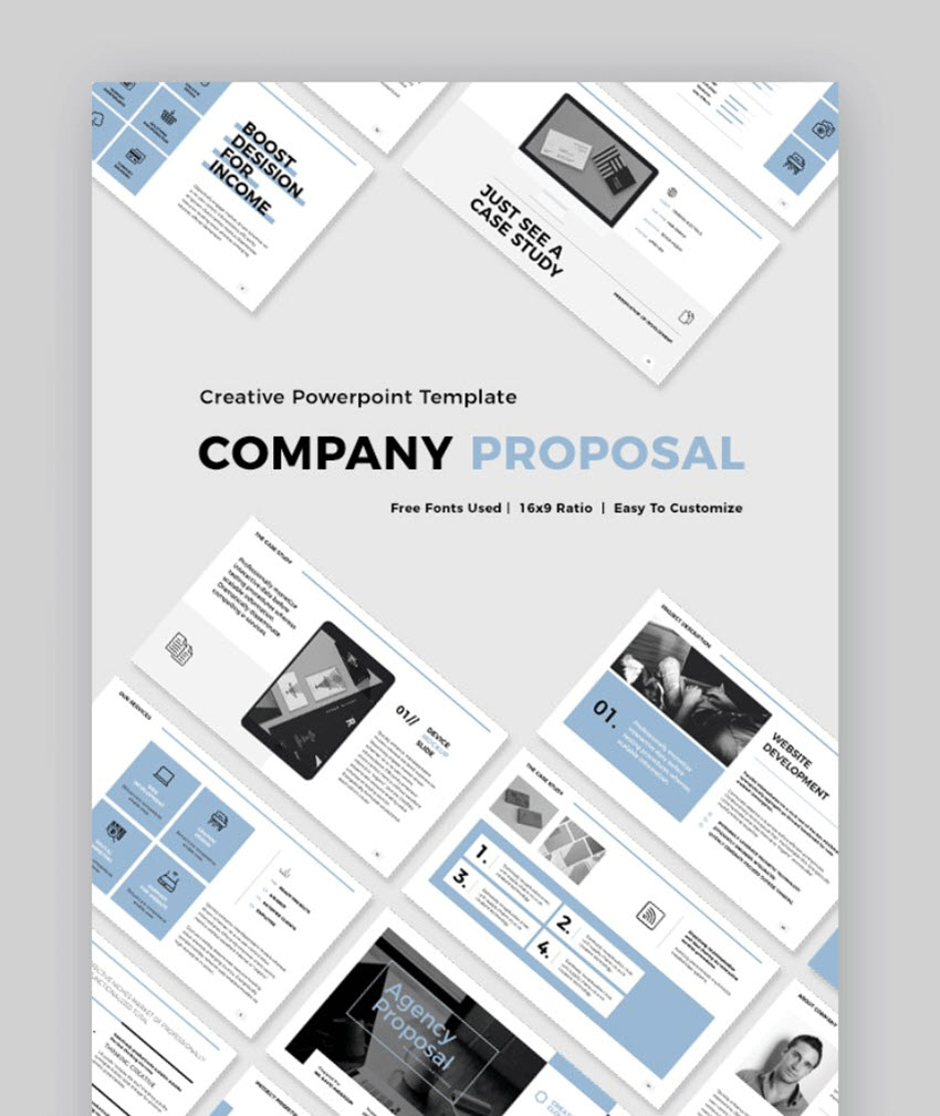 business proposal format ppt