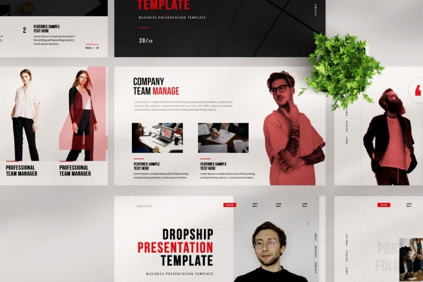 corporate powerpoint templates free