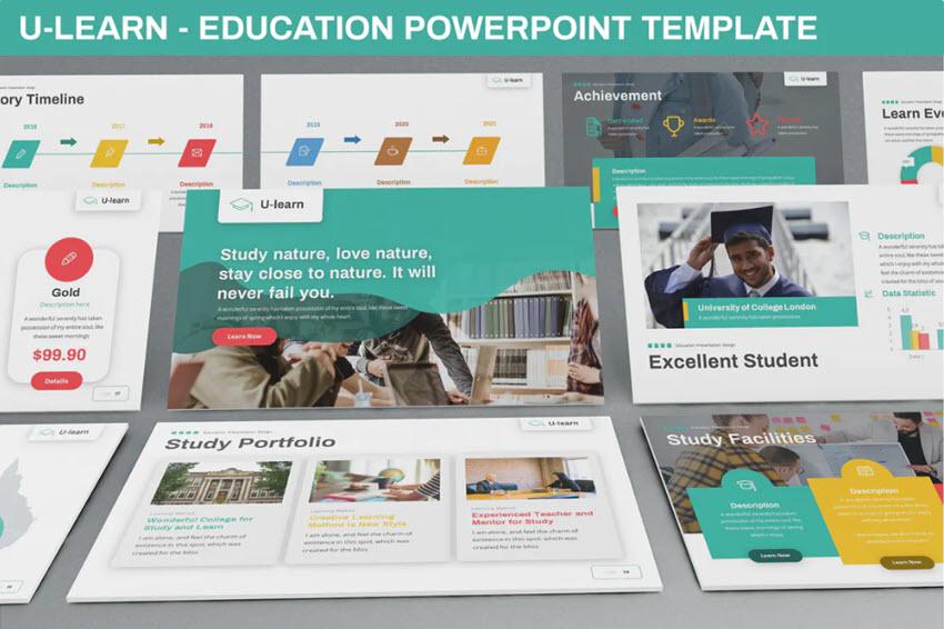 Educational Presentation Style