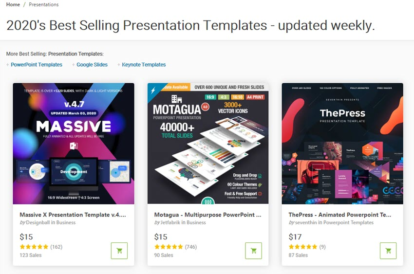 How to Make PPT slides with GraphicRiver