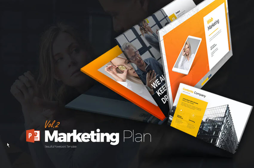 Marketing Plan PowerPoint Example