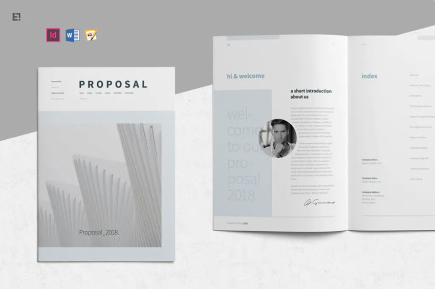 Creative Business Project Proposal Template