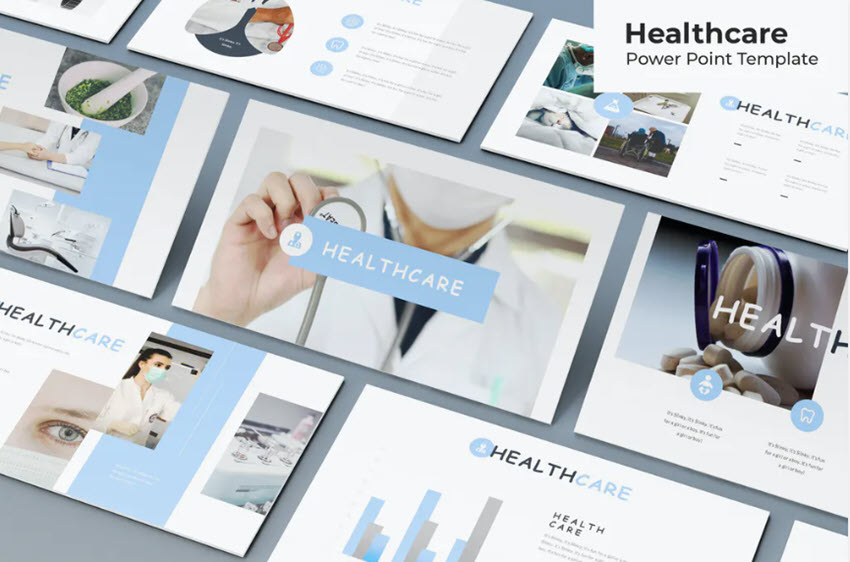 Healthcare PowerPoint Template Example