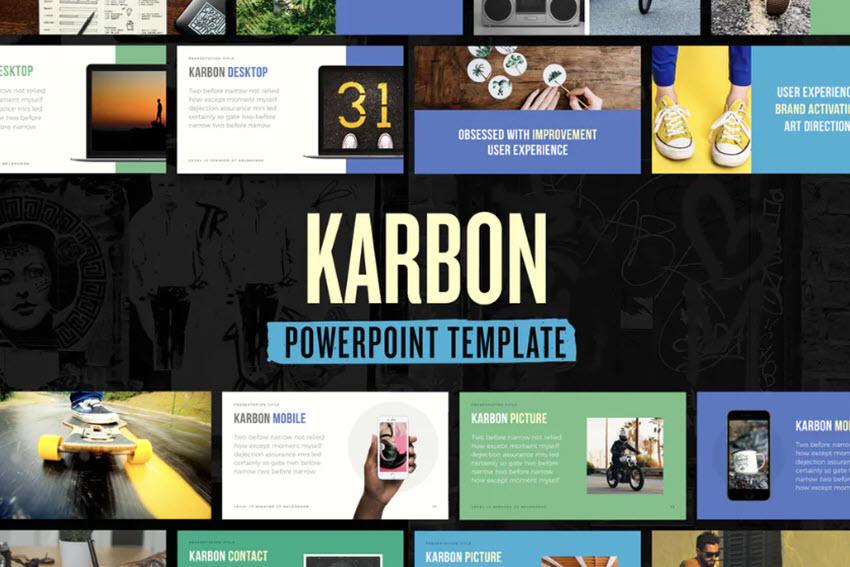 Karbon PowerPoint Template