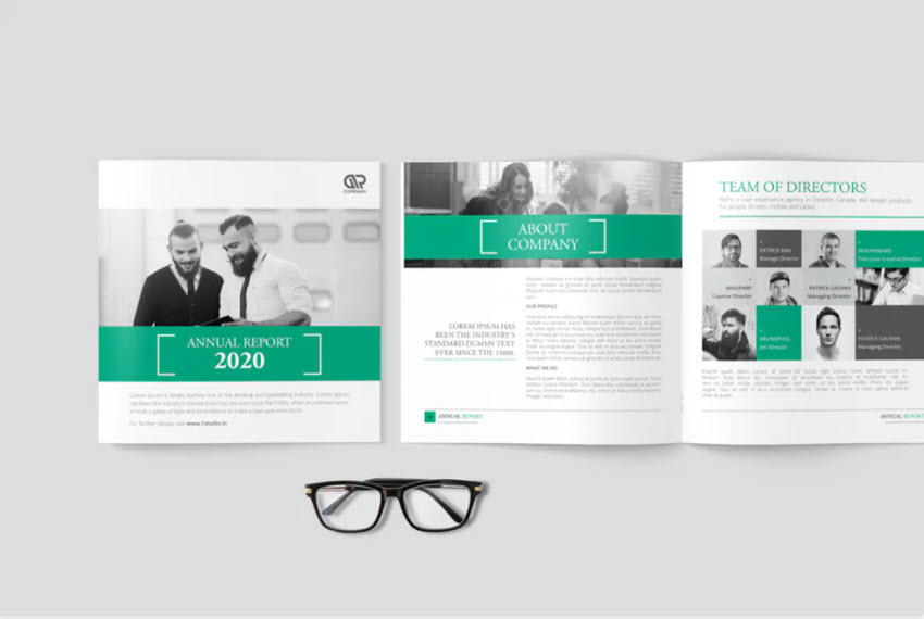 Square Corporate BrochureAnnual Report