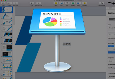Keynote 60 seconds preview