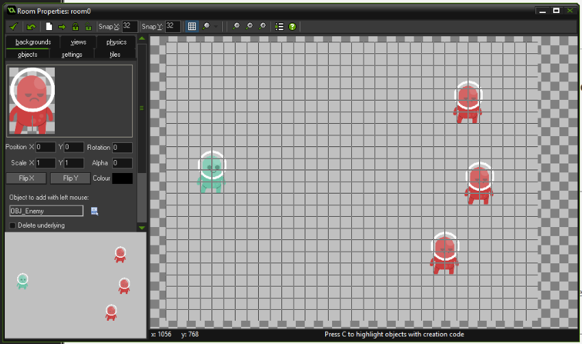 Building a Beat 'Em Up in Game Maker, Part 1: Player Movement, Attacks, and Basic Enemies