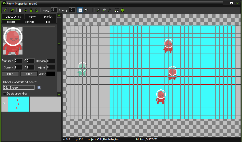Building a Beat 'Em Up in Game Maker, Part 2: Combat and Basic Enemy AI